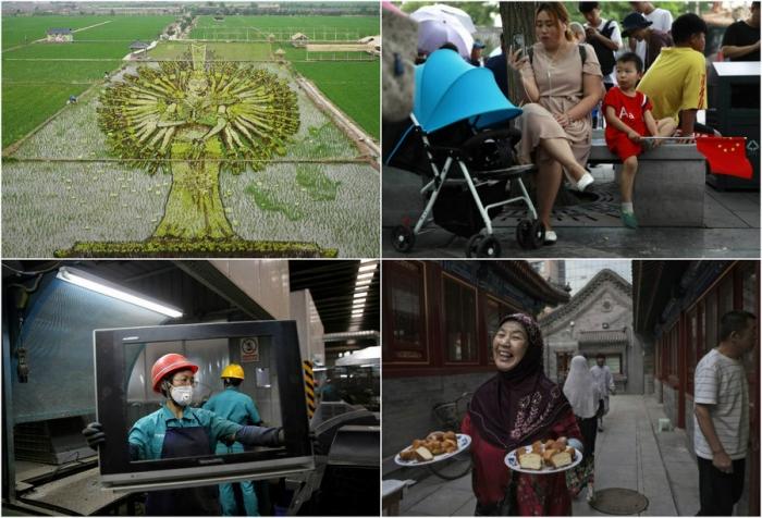 Увлекательные кадры из Китая
