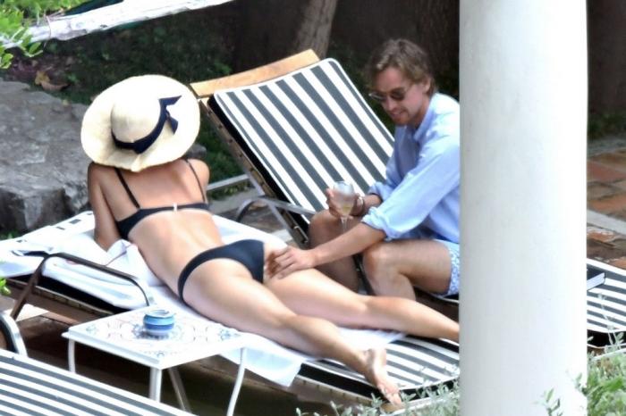 Мария Шарапова отдыхает в Италии