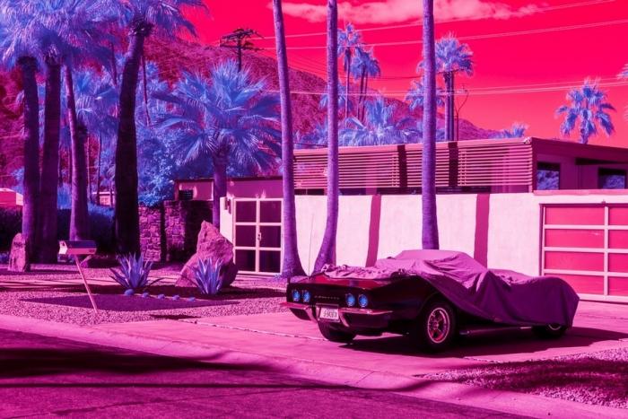Калифорния на инфракрасных снимках Кейт Баллис