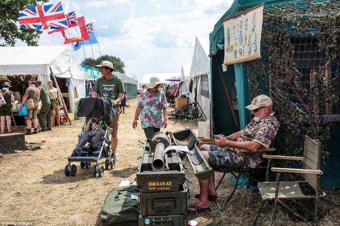 Крупнейшее в мире шоу военной техники проходит в Великобритании