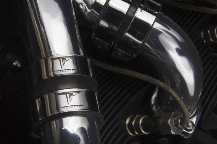Концептуальный мотоцикл с авиационным двигателем