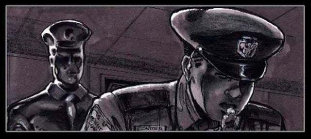 """Каким должен был стать """"Терминатор 2"""" по рисункам Джеймса Кэмерона"""