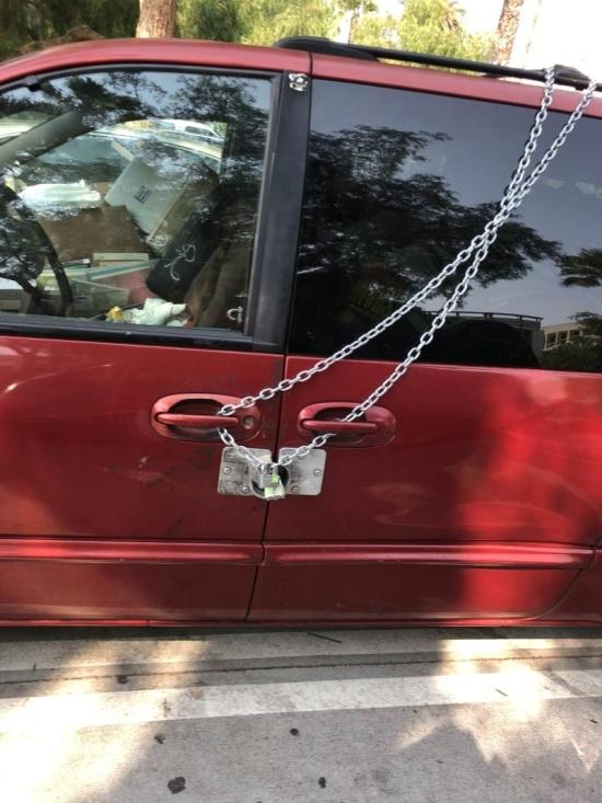 Когда автомобиль под надежной защитой