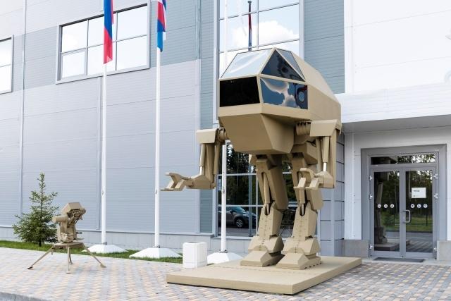 Концепт боевого робота