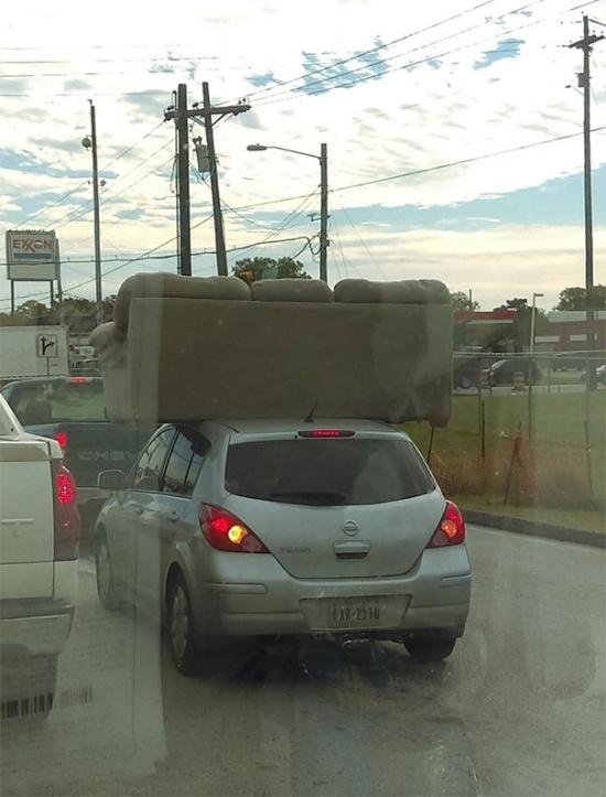 Странности и глупости на дорогах общего пользования