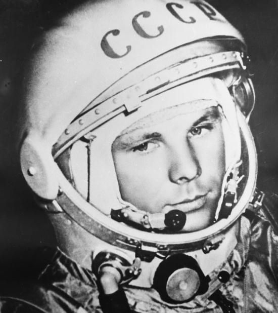 В сети выставили на продажу оригинальный шлем Юрия Гагарина