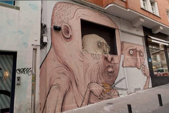 Необычный и креативный стрит-арт