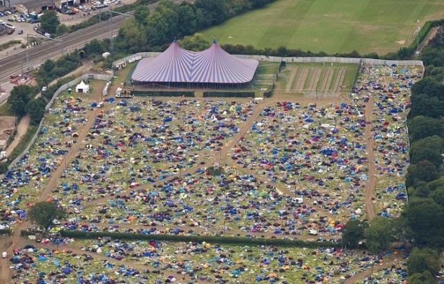 Последствия музыкального фестиваля в Рединге