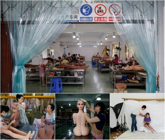 Умные роботы: производство секс-кукол в Китае
