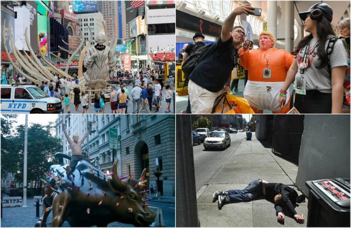 Интересные фотографии из США