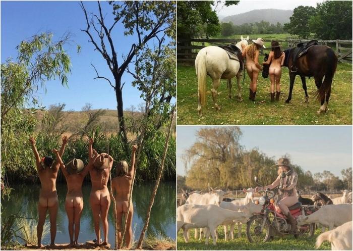 Австралийские фермеры разделись для календаря