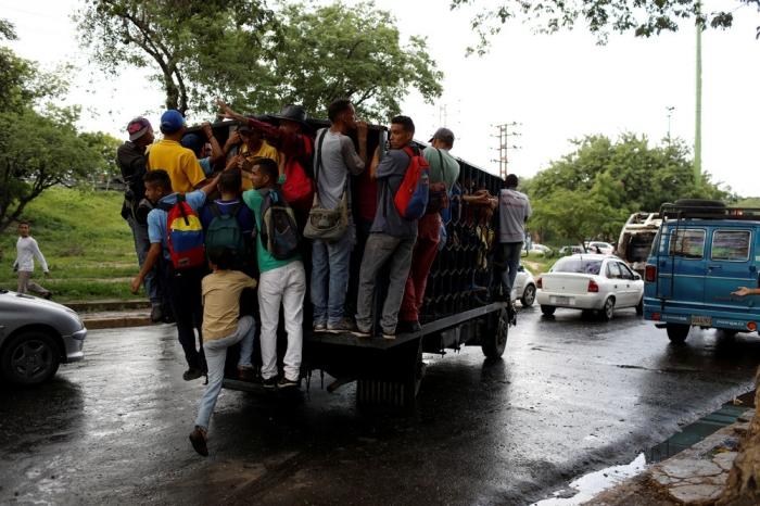 Интересные кадры из Венесуэлы