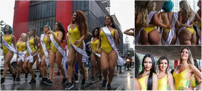 В Бразилии стартовал конкурс Miss Bumbum 2018