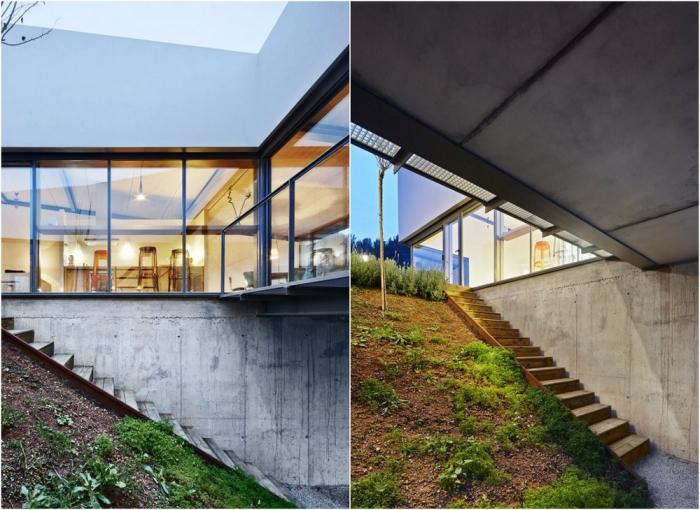 Ландшафтный дом в Испании