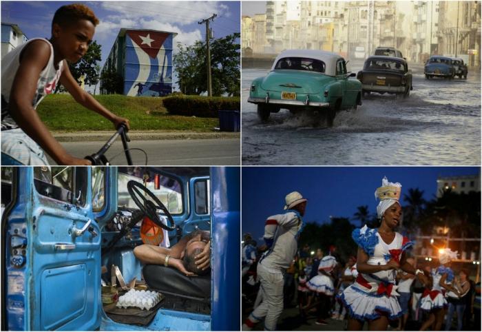 Интересные кадры с Кубы