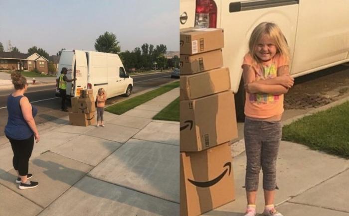 6-летняя девочка тайком накупила кучу игрушек на Amazon
