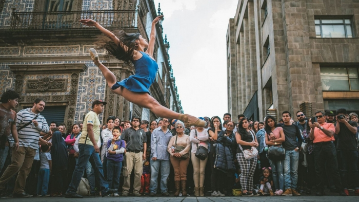 Фотограф Омар З. Роблес: танец в большом городе