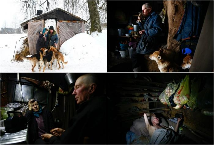 Семья отшельников, живущая в белорусском лесу