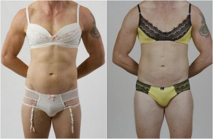 Последний писк моды: кружевное белье для мужчин