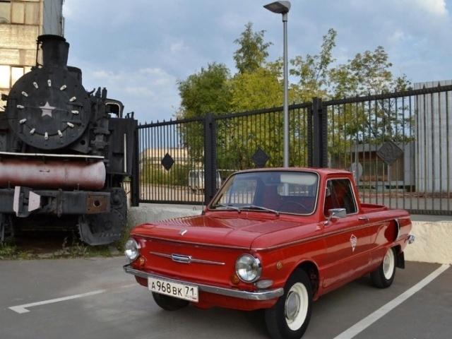 Уникальный ЗАЗ-968АП в кузове пикап