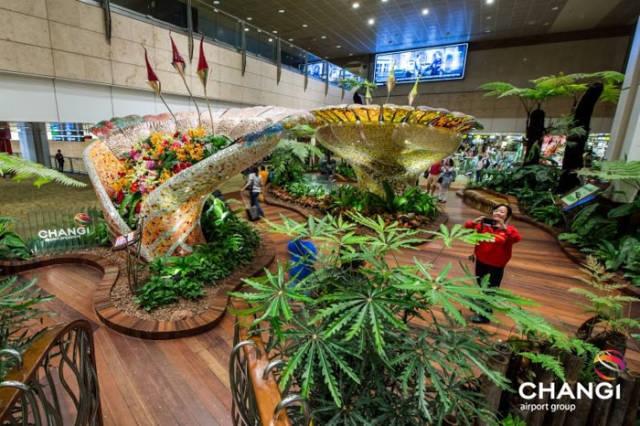Сингапурский аэропорт Чанги - победитель конкурса