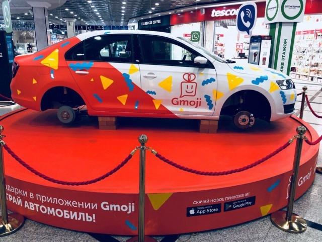 В Екатеринбурге с разыгрываемого в торговом центре автомобиля исчезли колеса