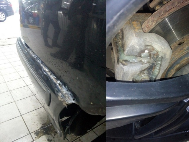 """Ремонт автомобилей в стиле: """"починили, как смогли"""""""