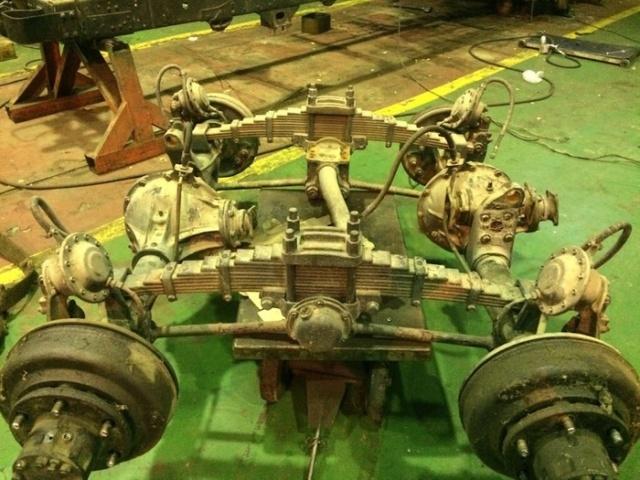 Восстановление старого грузовика ЗИЛ-157
