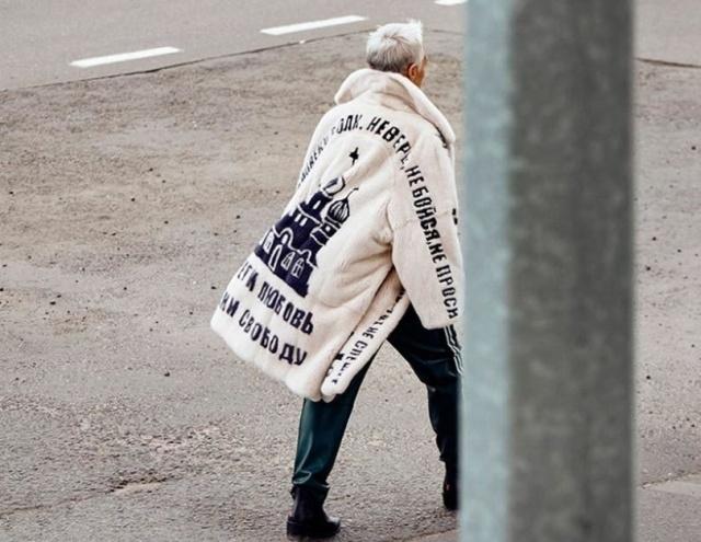 Модный приговор: пальто из норки в стиле АУЕ