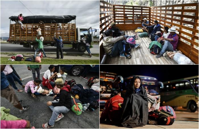 Венесуэльцы бегут в Перу