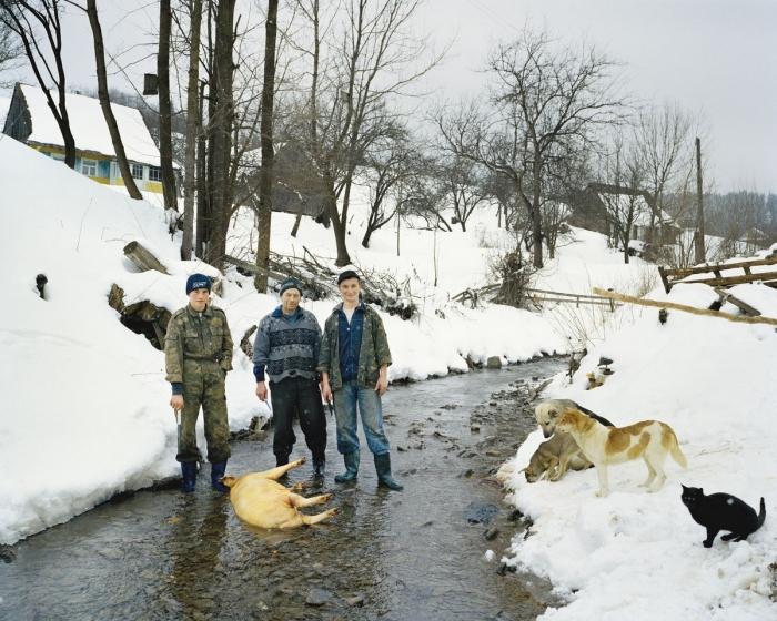 Украинское село Бойки