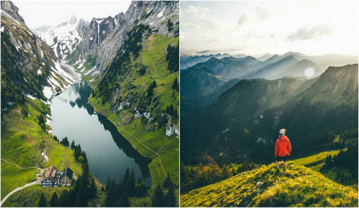Захватывающие природные пейзажи Михаэля Ширнхофера