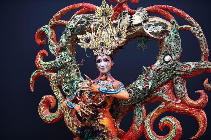 Яркие работы с фестиваля бодиартинга в Тэгу