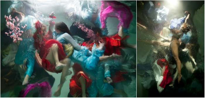 Проект «Музы»: подводные фотографии Кристи Ли Роджерс
