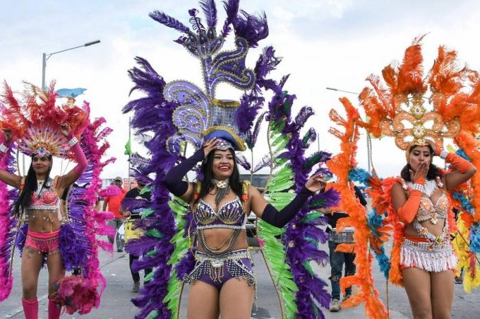 Красочный карнавал в честь 440-летия Тегусигальпа