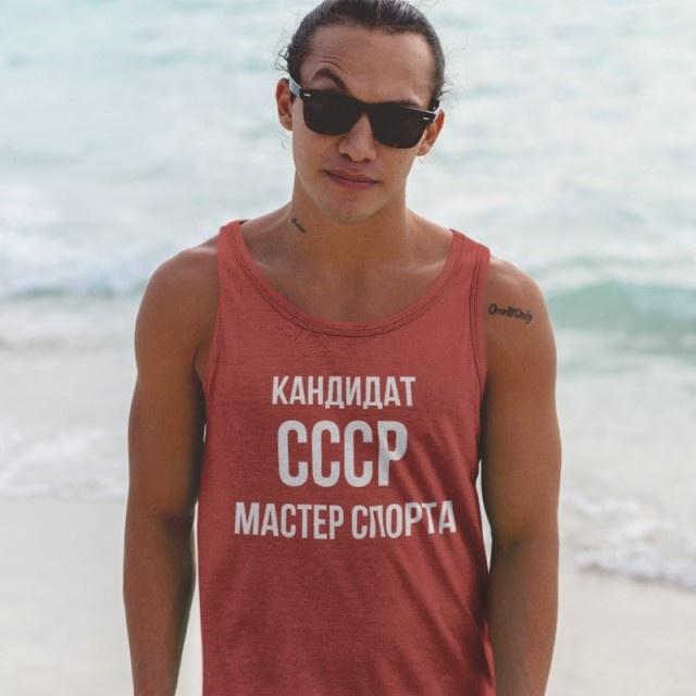 Западный тренд на одежду с надписями на кириллице