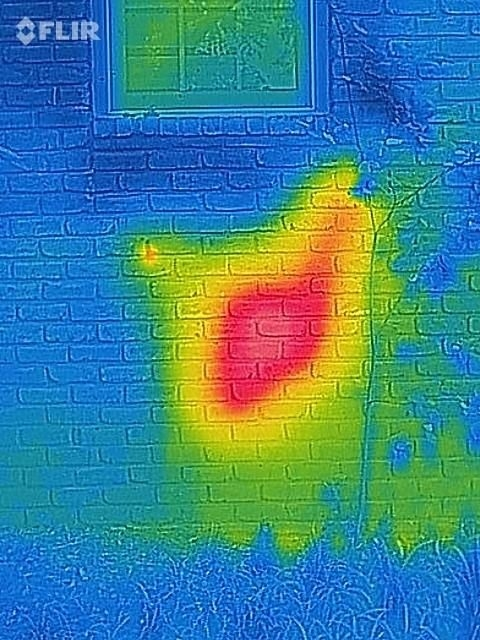 Странный шум в стене жилого дома