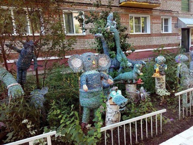 Дворовое искусство от жителей Нижнего Новгорода