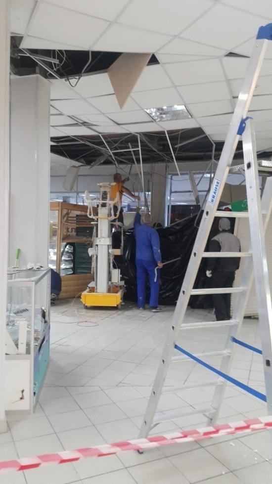 Грабители попытались взорвать банкомат в Подольске