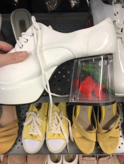 Странные вещи в комиссионных магазинах