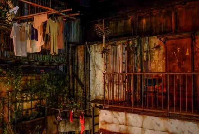 Криминальный район Гонконга, воссозданный в Японии