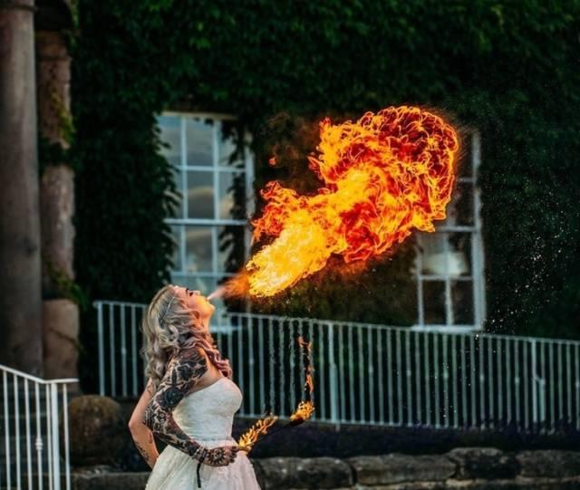 Интересные и креативные свадебные фотографии