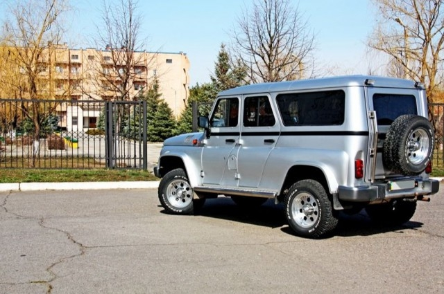 УАЗ-3153 с японской начинкой