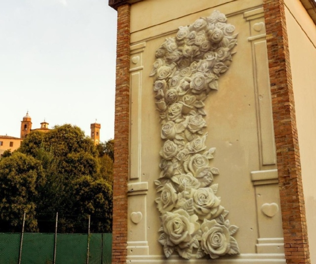 Уникальная лепнина на здании