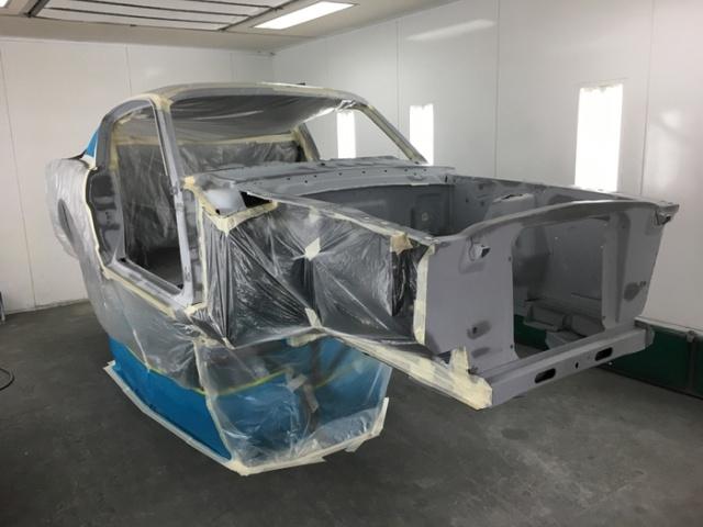 Восстановление Ford Mustang Fastback 1965 года