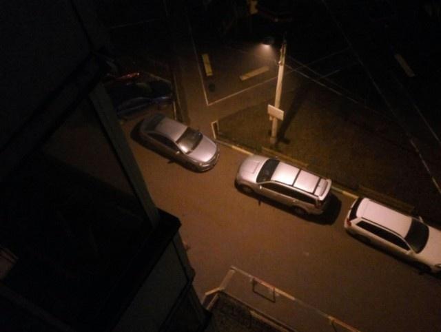 Месть за парковку в неположенном месте