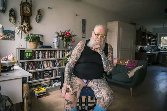Возраст татуировкам не помеха