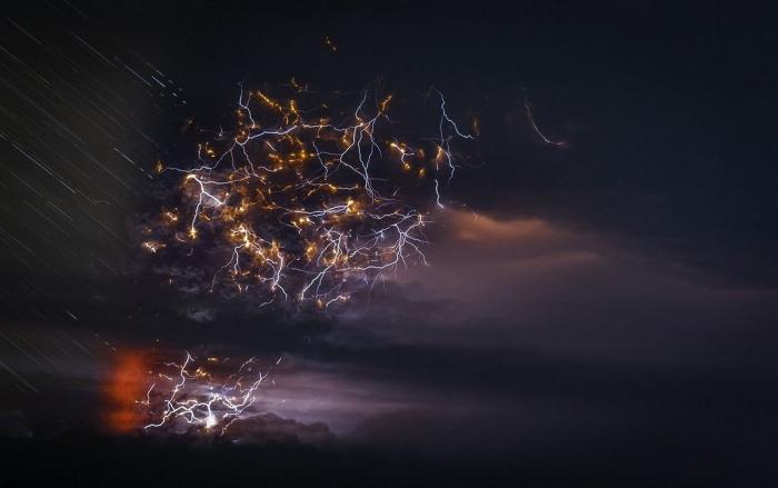 Вулканы Чили на снимках Франциско Негрони