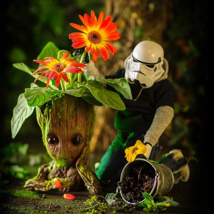 Жизнь игрушечного штурмовика из «Звёздных войн» на фото Дэррилла Джонса