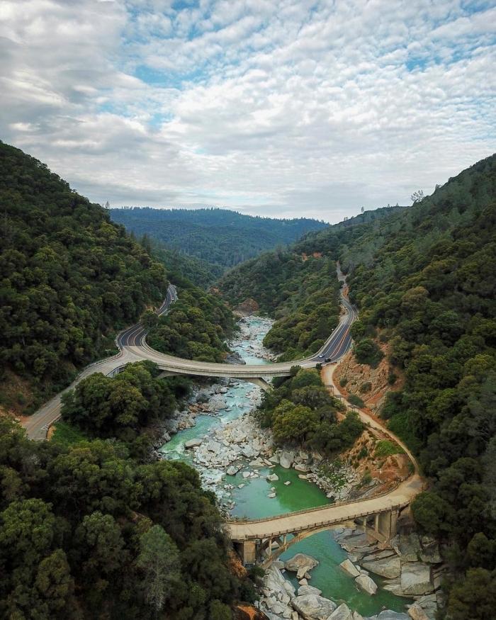 Калифорния сверху: аэрофотоснимки Росса Мартина
